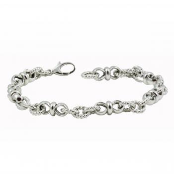 Delightfully lovely White Gold bracelet