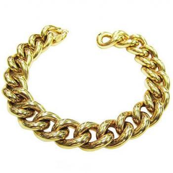 CLASSIC 18K GOLD LINK BRACELET