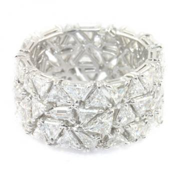 MIXED CUT DIAMOND ETERNITY BAND