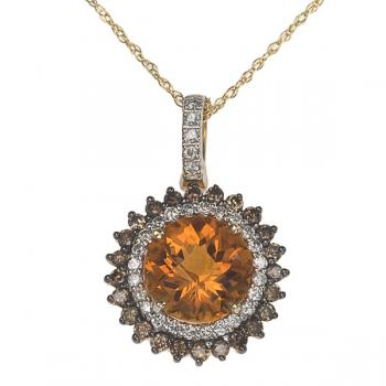 STAR DIAMOND STONE NECKLACE