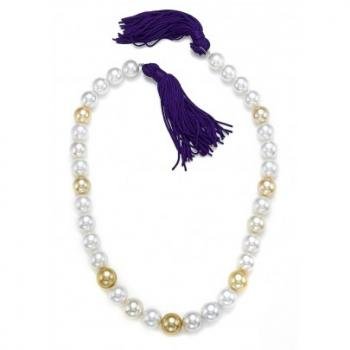 WHITE AND GOLDEN SOUTH SEA PEARL STRAND